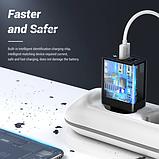 TOPK Quick Charge 3.0 3А 28Вт B254Q быстрое зарядное устройство на 2 usb порта Цвет Чёрный адаптер питания, фото 4