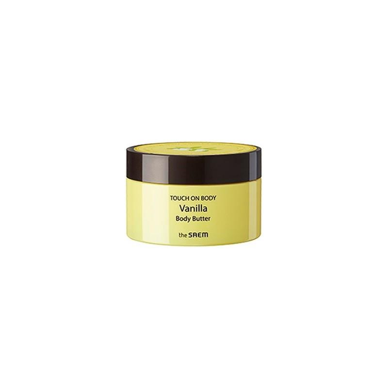 Питательный крем-масло для тела с ванилью THE SAEM TOUCH ON BODY BODY BUTTER