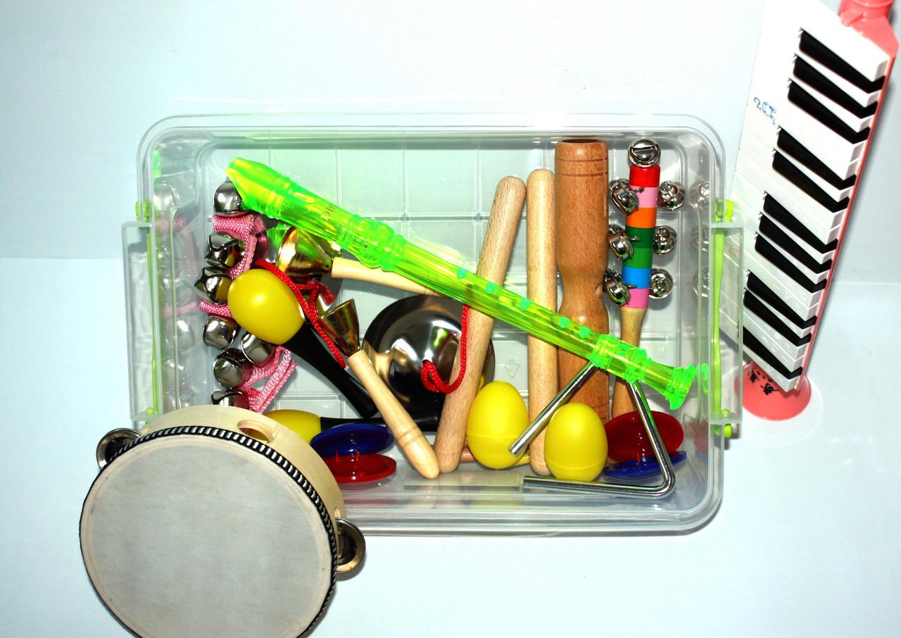 Комплект дитячих музичних інструментів