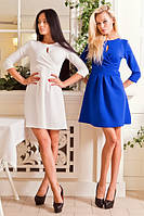 Женское платье классическое А-силуэт