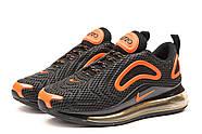 Кроссовки мужские 15254, Nike Air Max, черные ( 41 44  ), фото 7