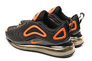 Кроссовки мужские 15254, Nike Air Max, черные ( 41 44  ), фото 8