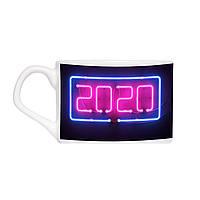 Кавова чашка з блюдцем - 2020 рік 150 мл