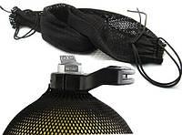Сетка для баллона дайвинг 15 л AquaLung Spiro; чёрная, фото 1