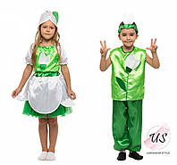Детский карнавальный костюм подснежника.