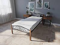 Односпальне ліжко Еліс Люкс Вуд  (8 кольорів), фото 1