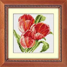 30007 Набор алмазной мозаики Три тюльпана