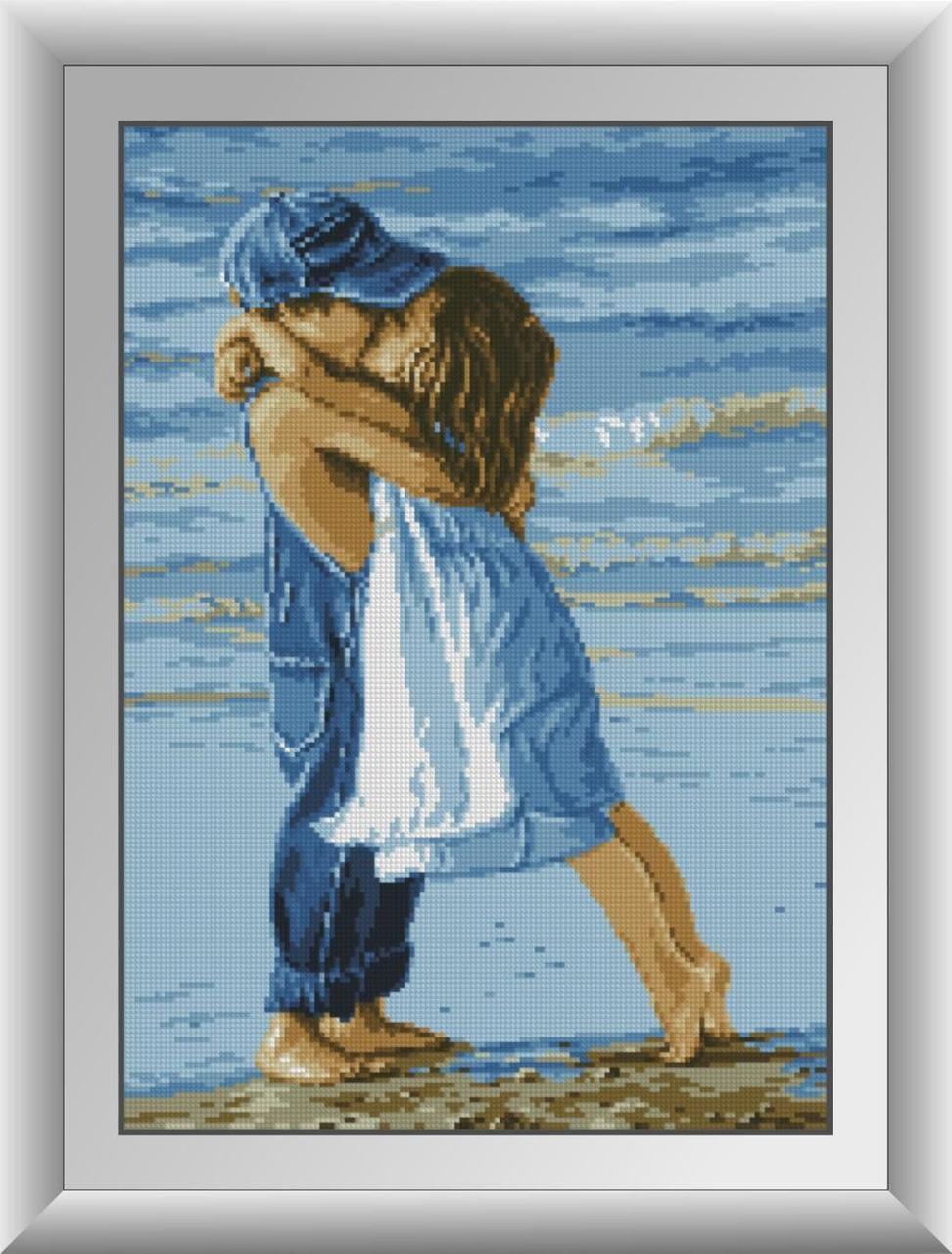 30013 Набор алмазной мозаики Дети на пляже