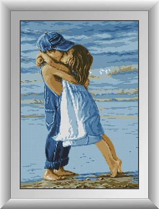 30013 Набор алмазной мозаики Дети на пляже, фото 2