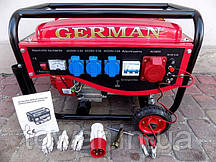 Бензиновый генератор German 2,9 KW трехфазный
