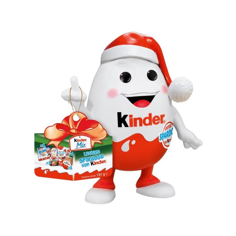 Подарочный набор - копилка Kinder Mix, 131г