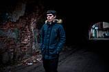 Парка мужская  зимняя синяя  HotWint Intruder 3 цвета, фото 4