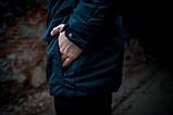 Парка мужская  зимняя синяя  HotWint Intruder 3 цвета, фото 3
