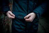 Парка мужская  зимняя синяя  HotWint Intruder 3 цвета, фото 6