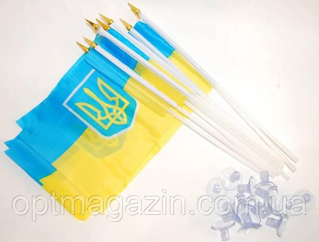 Флажок Украины с наконечником, фото 2