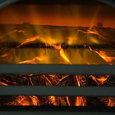 Электрокамин COUNTRY 900/1800 Вт черный, фото 3
