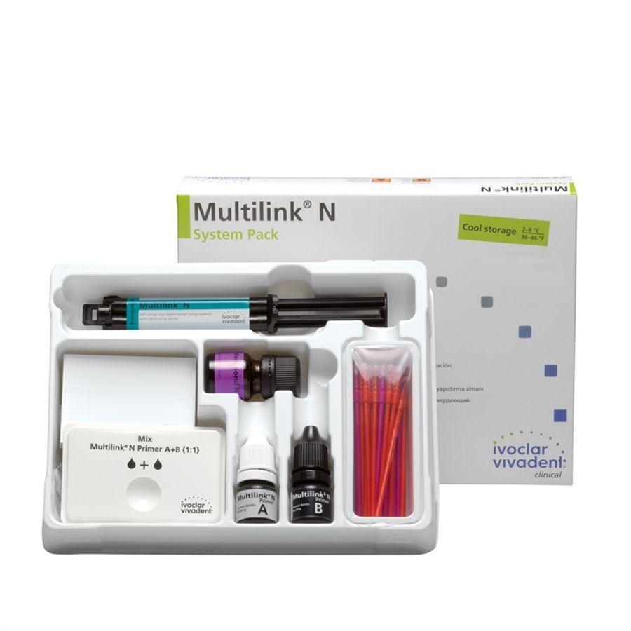 Multilink N System Pack Фиксирующий композит для реставраций Набор, Ivoclar Vivadent