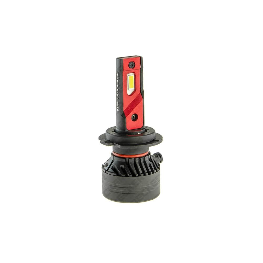 Автолампа Decker LED PL-01 H7 6000K 10000Lm CREE 12V