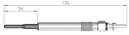 Свеча накала Audi A4/A6/A8 2.5/3.3/4.0TDi VW B-5 2.5TDi  127 338