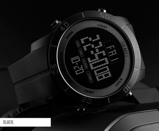 Skmei 1353 bestчерные спортивные часы мужские