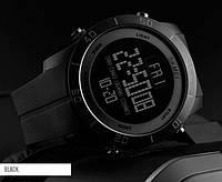 Skmei 1353 bestчерные спортивные часы мужские, фото 1