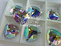 Стрази Lux Trillant 12мм. Crystal AB