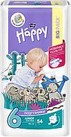 Подгузники детские одноразовые Bella Baby Happy Junior Extra 16+ кг 54 шт (5900516601157)