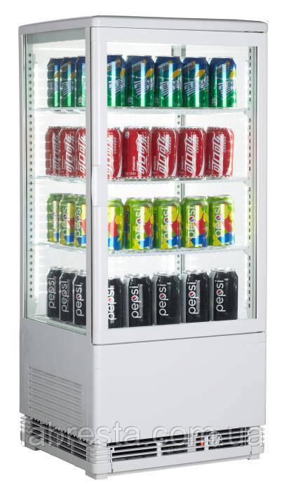 Шкаф-витрина холодильная GoodFood RT78L белая