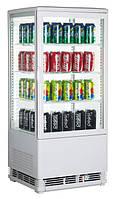 Шкаф-витрина холодильная GoodFood RT78L белая, фото 1