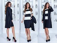 """Костюм платье с кардиганом """"Платье + кардиган"""" Angelo Style, фото 1"""