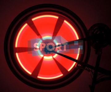 Подсветка на колеса А9 Красная