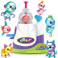 Детский набор конструктор для творчества Kronos Toys из надувных шаров OONIES Inflator с надувной станцией