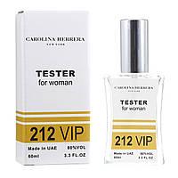 Женский тестер Carolina Herrera 212 VIP Woman , 60  мл