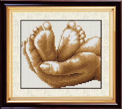 30020 Набор алмазной мозаики Жизнь в руках, фото 2