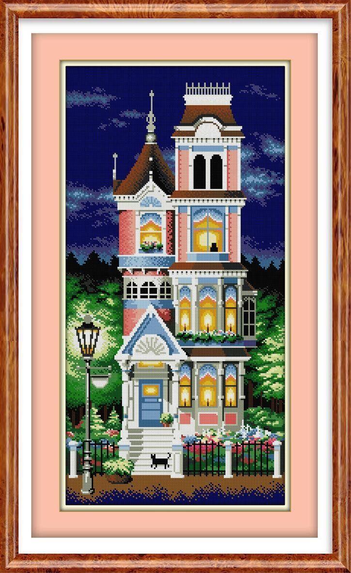 30023 Набор алмазной мозаики Викторианский шарм
