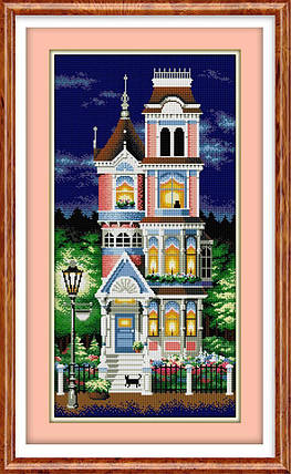 30023 Набор алмазной мозаики Викторианский шарм, фото 2