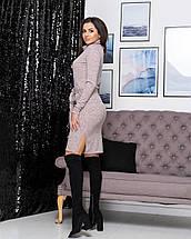 "Ангоровое платье большого размера ""Мадлен""| Батал, фото 3"