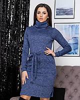 "Ангоровое платье большого размера ""Мадлен""| Батал"