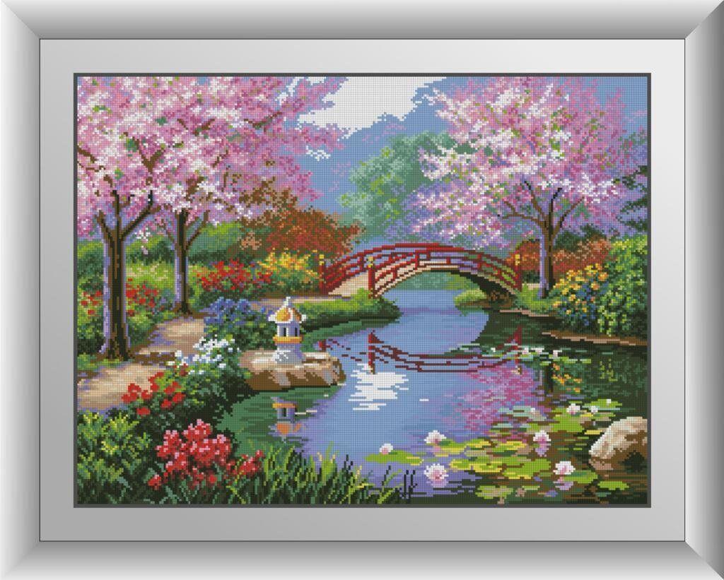 30032 Набор алмазной мозаики Японский сад