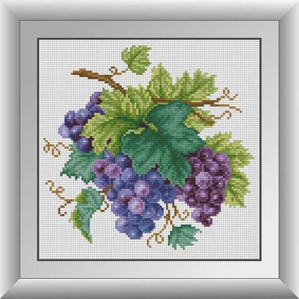 30045 Набор алмазной мозаики Гроздь винограда, фото 2