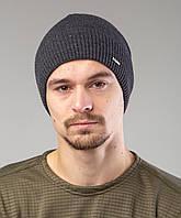 Мужская шапка на зиму на флисе - Артикул 2505