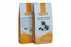 Сухой корм CRISS с домашней птицей для котов  10кг