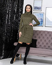 "Платье-гольф миди с карманами ""Мадлен""| Норма, фото 2"