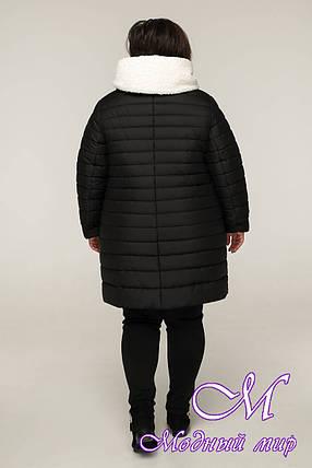 Теплый зимний пуховик больших размеров (р. 54-64) арт. 12-21/21, фото 2