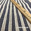 Льняная полосатая ткань для ковриков, 100% лен, 10С492-ШР-1-28, фото 4