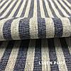Льняная полосатая ткань для ковриков, 100% лен, 10С492-ШР-1-28, фото 3