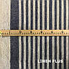 Льняная полосатая ткань для ковриков, 100% лен, 10С492-ШР-1-28, фото 2