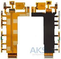 Шлейф Sony D6603 Xperia Z3 / D6643 Xperia Z3 / D6653 Xperia Z3 с кнопкой включения и регулировки громкости, микрофоном и вибромотором