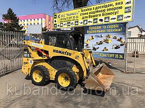 Оренда міні-навантажувача KOMATSU SK815