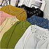Женский свитер с бусинами на горловине 42-44 (в расцветках), фото 3